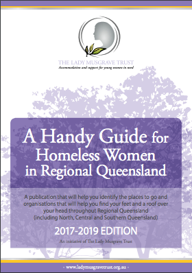 A Handy Guide for Homeless Women in Regional Qld