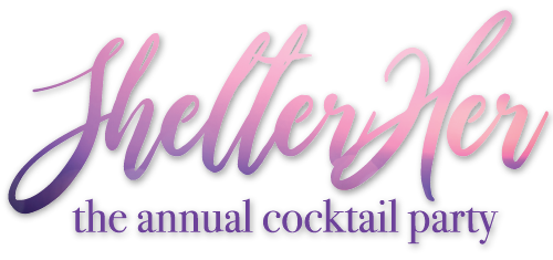 ShelterHer Cocktail Party Logo