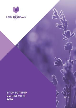 The Lady Musgrave Trust Sponsorship Prospectus